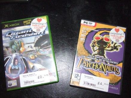 Retro Pick-Ups: Psychonauts [PC] and Quantum Redshift [Xbox]