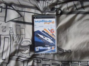 WipEout Pure [PSP] - Photo of game box