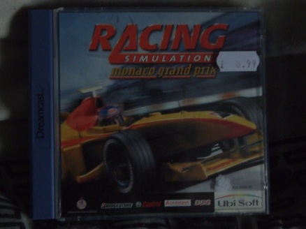 Racing Simulator (2?): Monaco Grand Prix [DC] - Front Cover