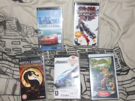 Retro Pick-Ups: A bunch of PSP games