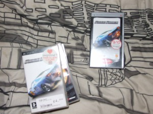 I got Ridge Racer, which I got today...