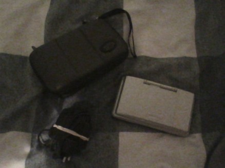 Nintendo DS (Original) + Charger & Carry Case